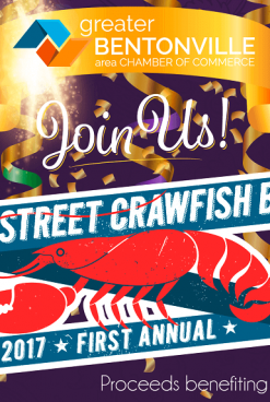 2017 Bentonville's Annual WalStreet Crawfish Boil Event